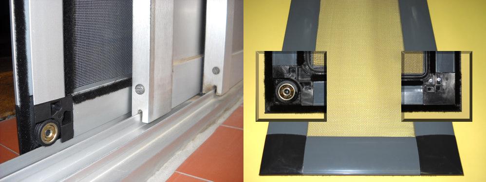 Mosquitera para todo tipo de ventanas ropa de hogar - Como colocar una puerta corredera ...