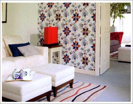 Tapizado de muebles ropa de hogar tapicer as casta o for Paredes tapizadas