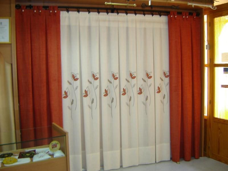 Limpieza ropa de hogar ropa de hogar tapicer as casta o for Cortinas lisas para salon