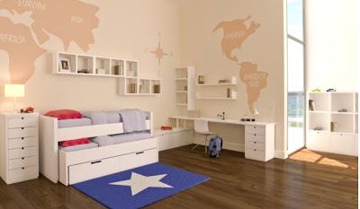 Alfombras tama o de la alfombra ii blog tapicer as - Habitaciones infantiles marineras ...