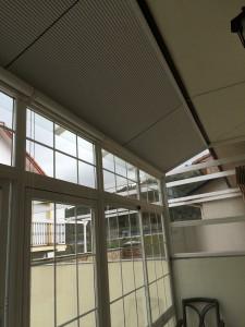 evitar calor en terrazas acristaladas