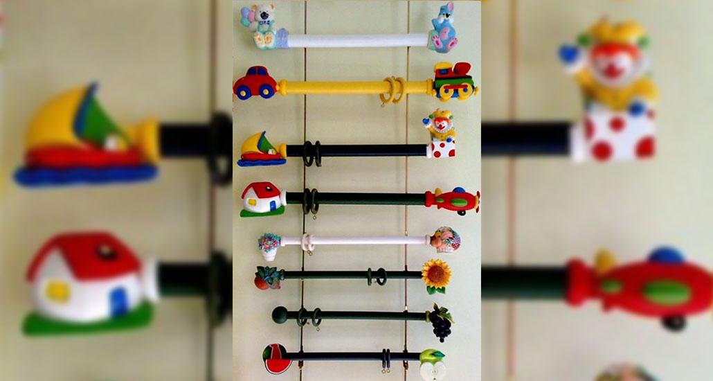 C mo elegir las barras de cortina blog tapicer as - Barras de cortinas infantiles ...