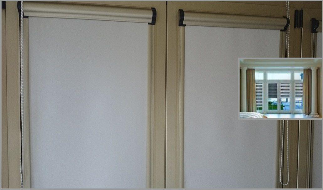 La soluci n para ventanas sin persiana estores fit blog for Tapicerias castano