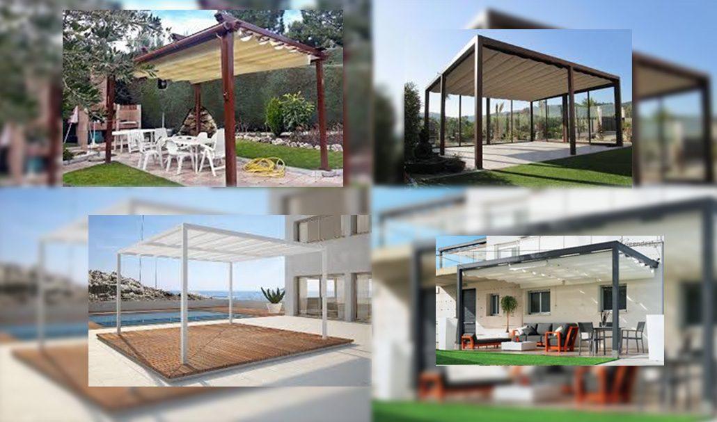 P rgolas plegables para jard n y terrazas blog for Tapicerias castano